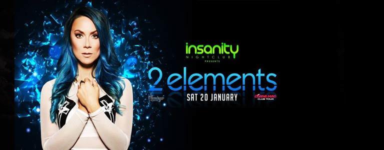 Dj 2elements at Insanity Nightclub Bangkok