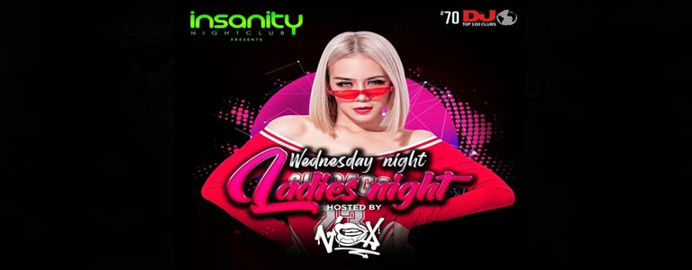 Ladies Night at Insanity Nightclub Bangkok
