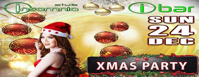Christmas Party at Insomnia Pattaya