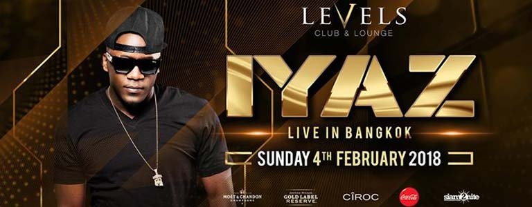 Iyaz Live in Bangkok at Levels