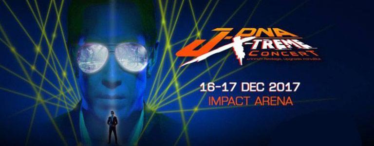 J-DNA X-Treme Concert Impact Arena Bangkok