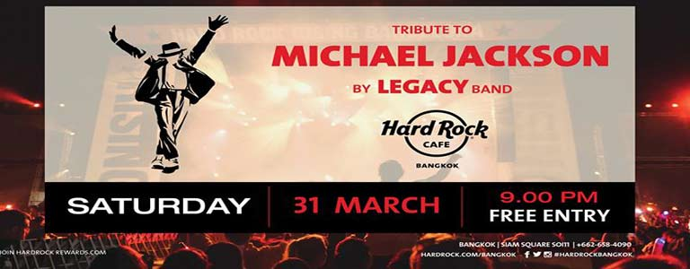 Tribute to Michael Jackson at Hard Rock Cafè Bkk