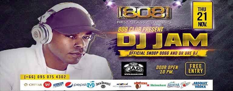 Dj JAM Live at 808 Club Pattaya
