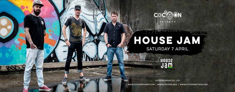 House Jam (UK) Live at Cocoon Pattaya