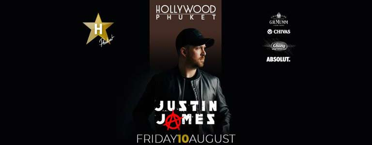 Justin James at Hollywood Phuket