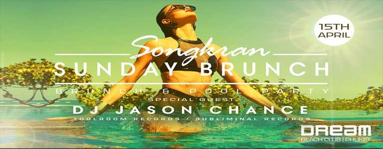 Songkran Sunday Brunch with DJ Jason Chance