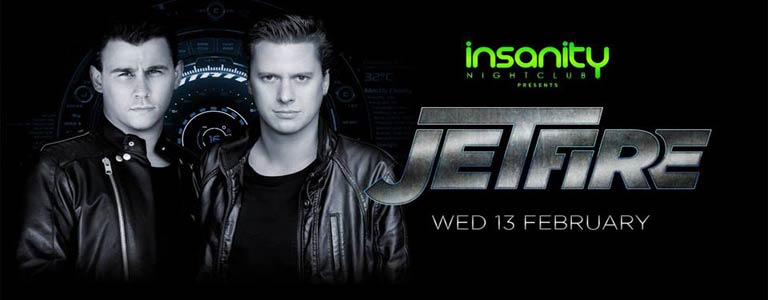 Jetfire at Insanity Nightclub