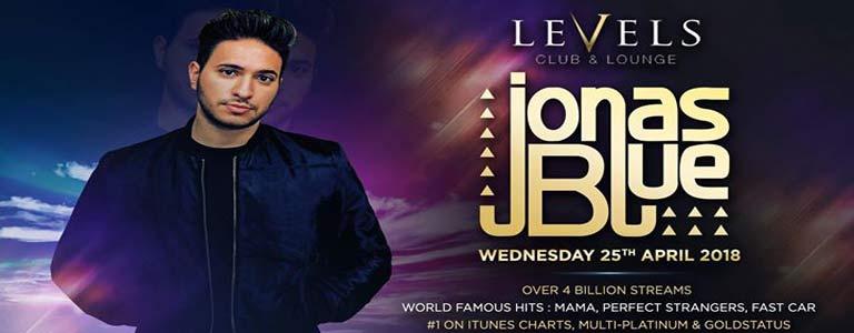 JONAS BLUE Live at Levels Club & Lounge Bkk