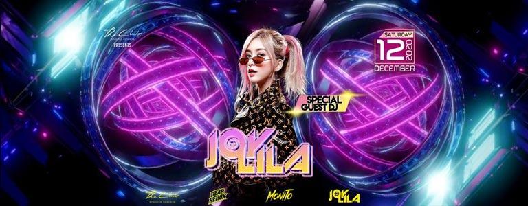 DJ JOYLILA at The Club Khaosan