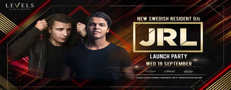 LEVELS presents JRL Launch Party