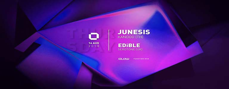 GLOW Thursday w/ Junesis & EDiBLE