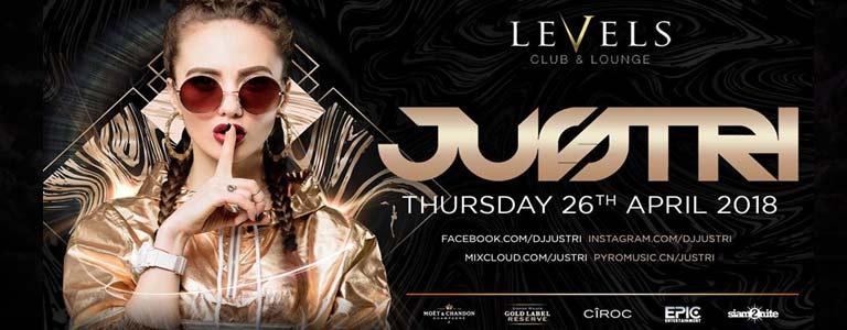Justri at Levels Club & Lounge Bkk