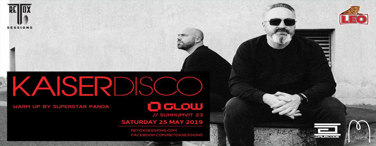 Retox Sessions Presents Kaiserdisco at Glow