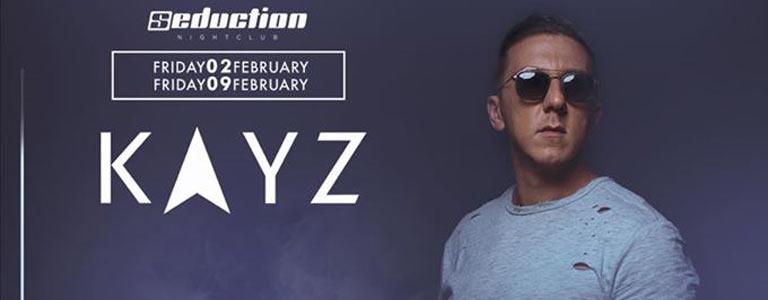 Dj Kayz at Seduction Beach Club & Disco Phuket
