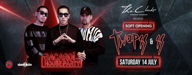 The Club Khaosan presents Two Pee & Southside