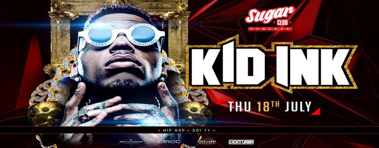 Sugar Bangkok Presents Kid Ink