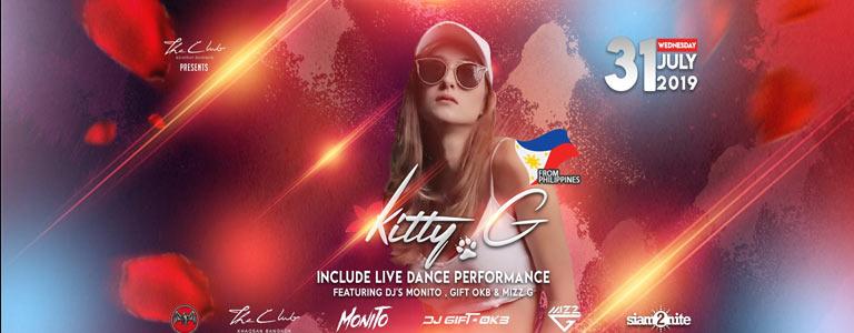 Kitty G live at The Club Khaosan