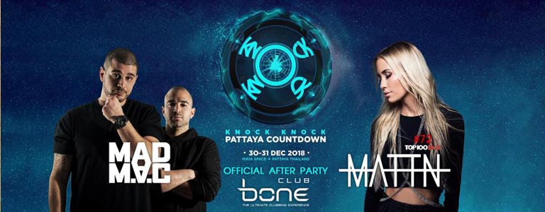 Official After Party Knock Knock Pattaya Countdown 2019
