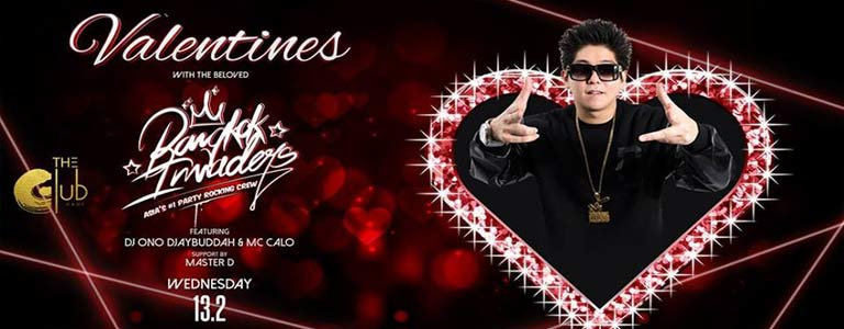 Valentines w/ The Bangkok Invaders at The Club@Koi