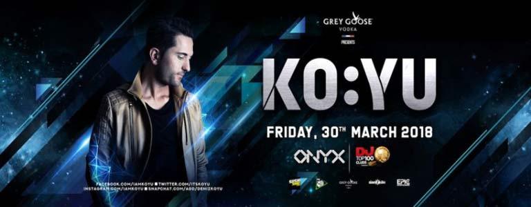 KO:YU at Onyx Bkk