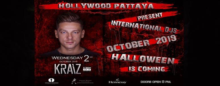 Hollywood Pattaya Presents: KRAIZ