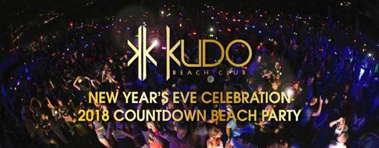 New Year's Eve 2018 Countdown at KUDO Beach Club Phuket