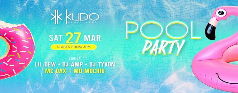 POOL PARTY at Kudo Beach Club Phuket