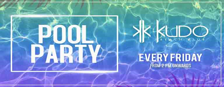 POOL PARTY at KUDO Beach Club