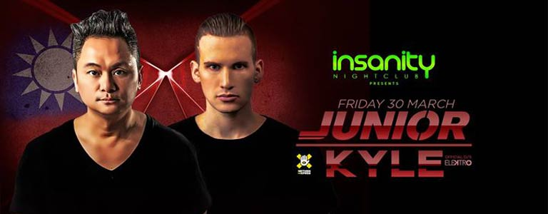 Junior & Kyle at Insanity Nightclub