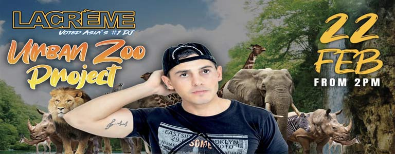 LaCreme presents Urban Zoo Project Pool Parties