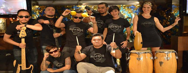 Latin Rock Night Party at Hard Rock Cafe Phuket