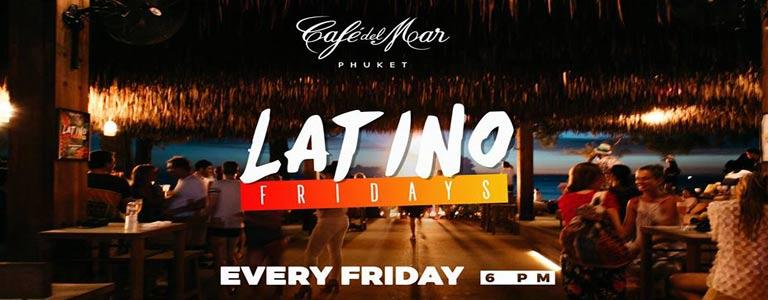 Latino Fridays at Cafe del Mar Phuket