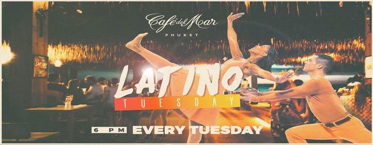 Latino Tuesday at Cafe del Mar Phuket