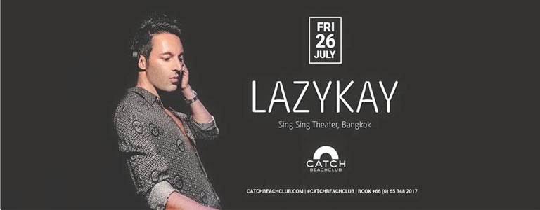 Lazykay at Catch Beach Club