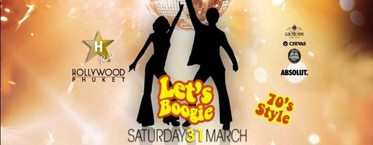 Let's Boogie Party 70's Style