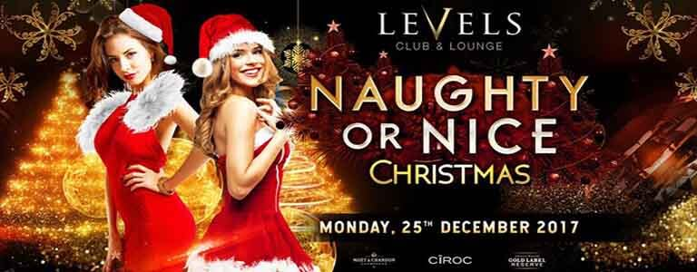 Naughty or Nice Christmas at Levels Bangkok