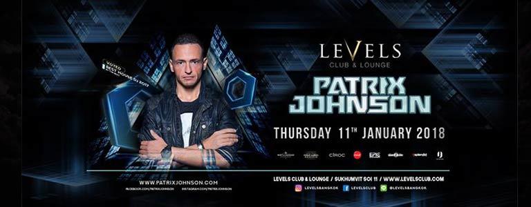 Patrix Johnson at Levels Club & Lounge Bangkok