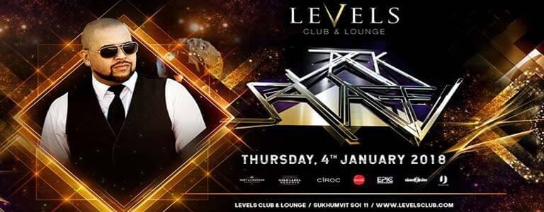 Jvck Savage at Levels Club & Lounge Bangkok
