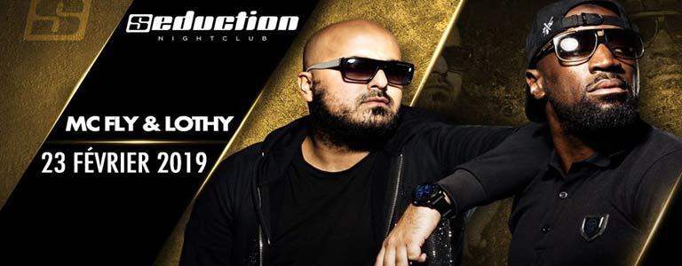 MC FLY & LOTHY Live au Seduction NightClub