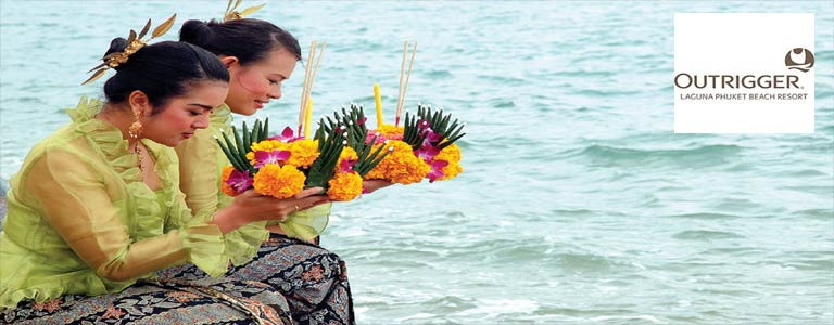 Loy Krathong Festival at Outrigger Laguna Phuket Beach Resort