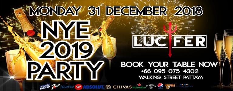 Lucifer 2.0 presents New Year Eve Party