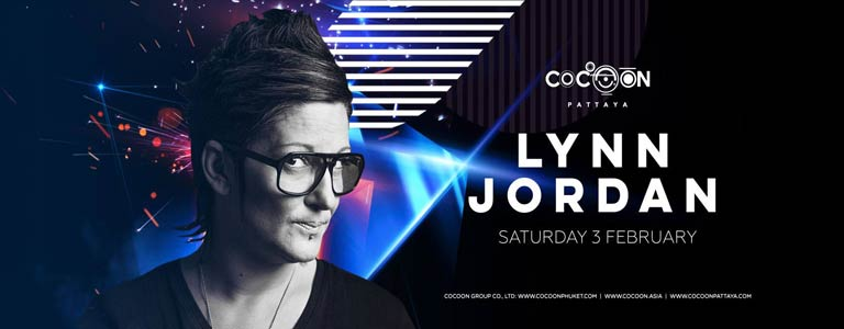 DJ Lynn Jordan at Cocoon Pattaya