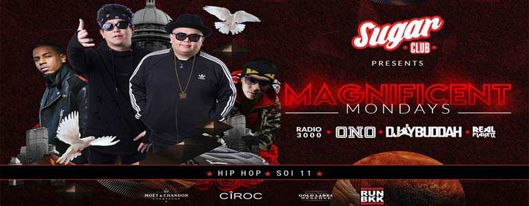Sugar Bangkok Presents: Magnificent Mondays w/ Bangkok Invaders