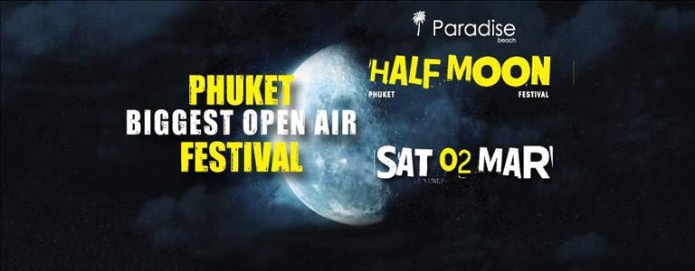 Half Moon Festival w Makasi at Paradise Beach