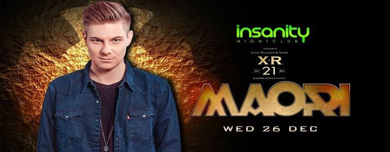 XR 21 presents DJ MAORI at Insanity Nightclub