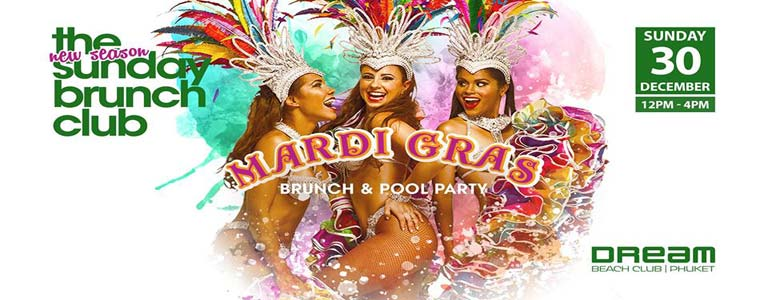 Experience the Mardi Gras flair at Sunday Brunch