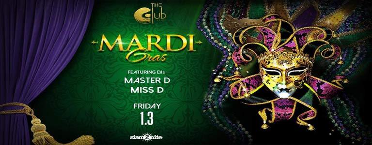 Mardi Gras at The Club@Koi