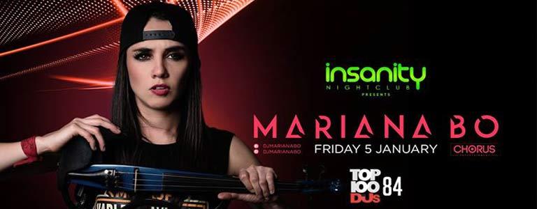 Mariana Bo at Insanity Disco Club Bangkok