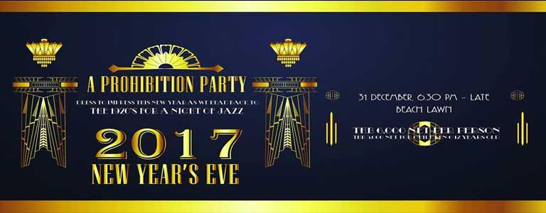 Prohibition Party at Phuket Marriott Resort & Spa, Merlin Beach
