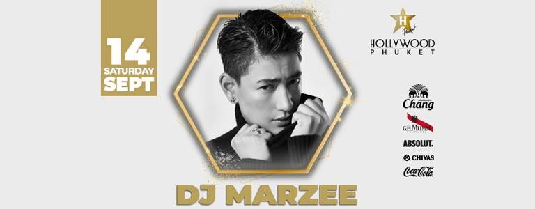 DJ Marzee Live at Hollywood Phuket